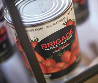 Real italian tomatoes.